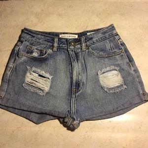 5/$25 BUNDLE SALE Bullhead Mom Short Jean Shorts